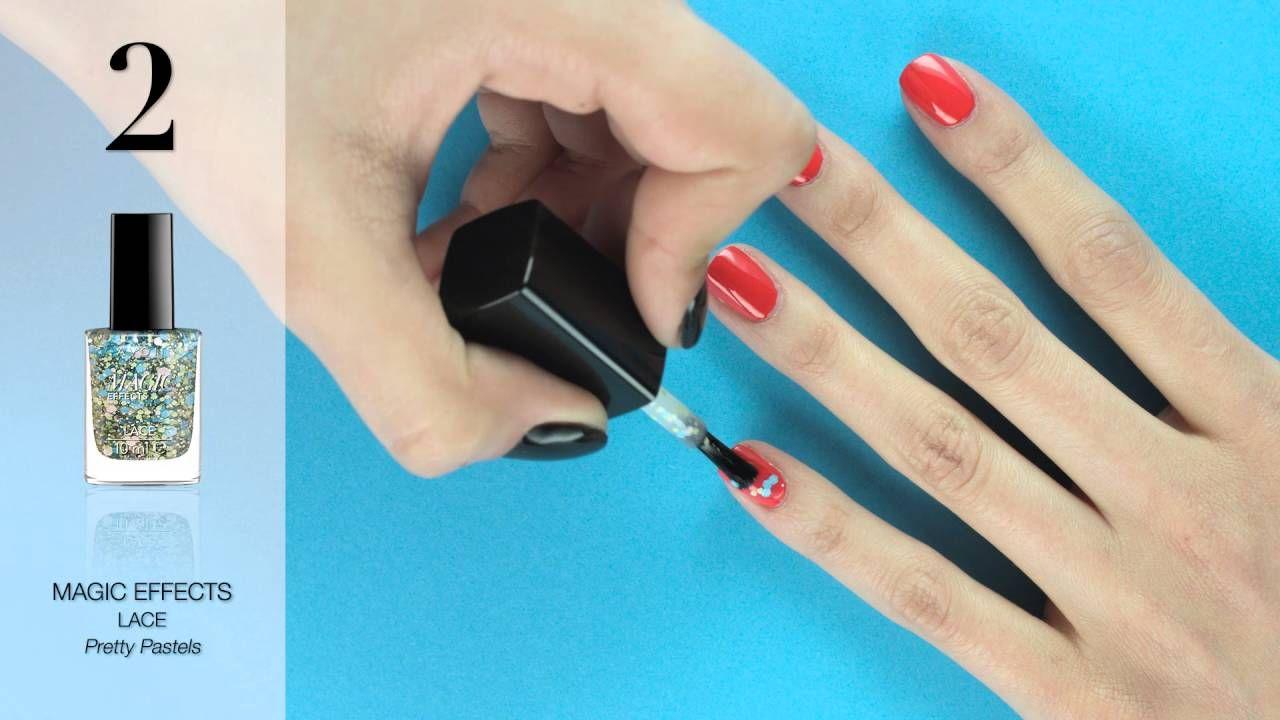 AVON manicure tutorial Sparkly lace Shop www.youravon