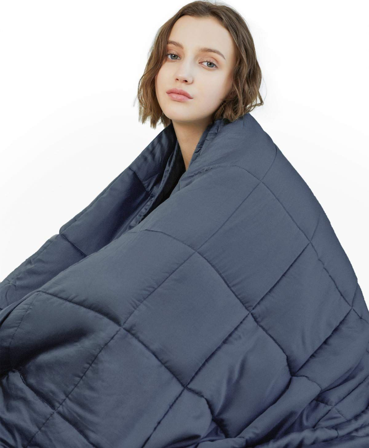 Amazon Com Ynm Weighted Blanket 15 Lbs 60 X80 Queen Size