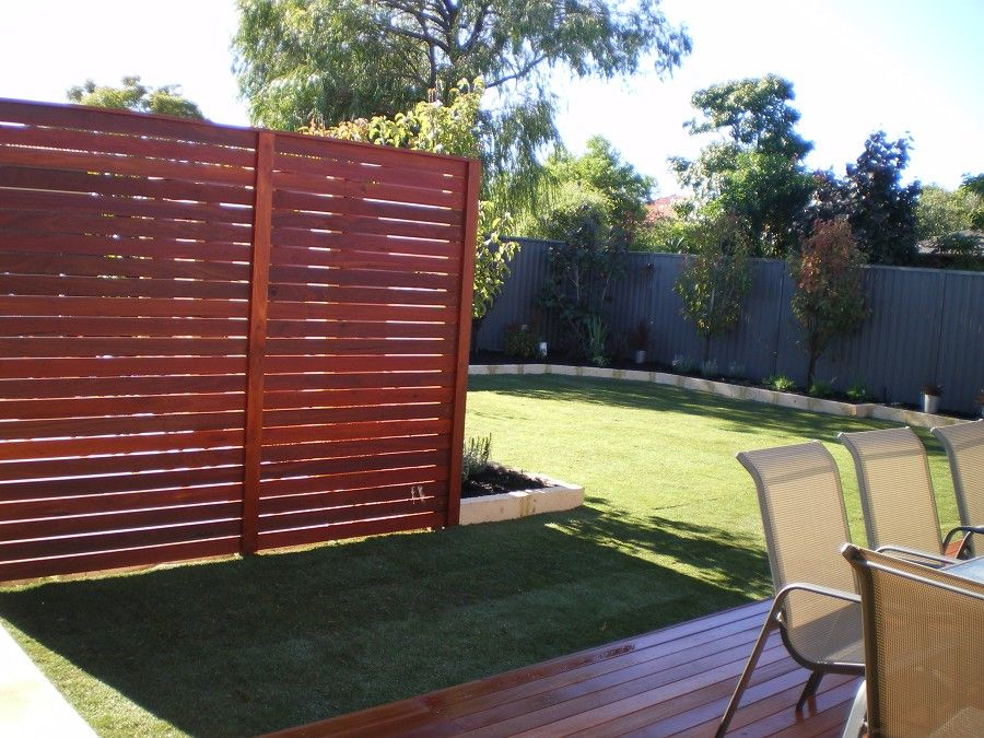 Dg maintenance services decking garden landscaping for Privacy screen ideas for backyard