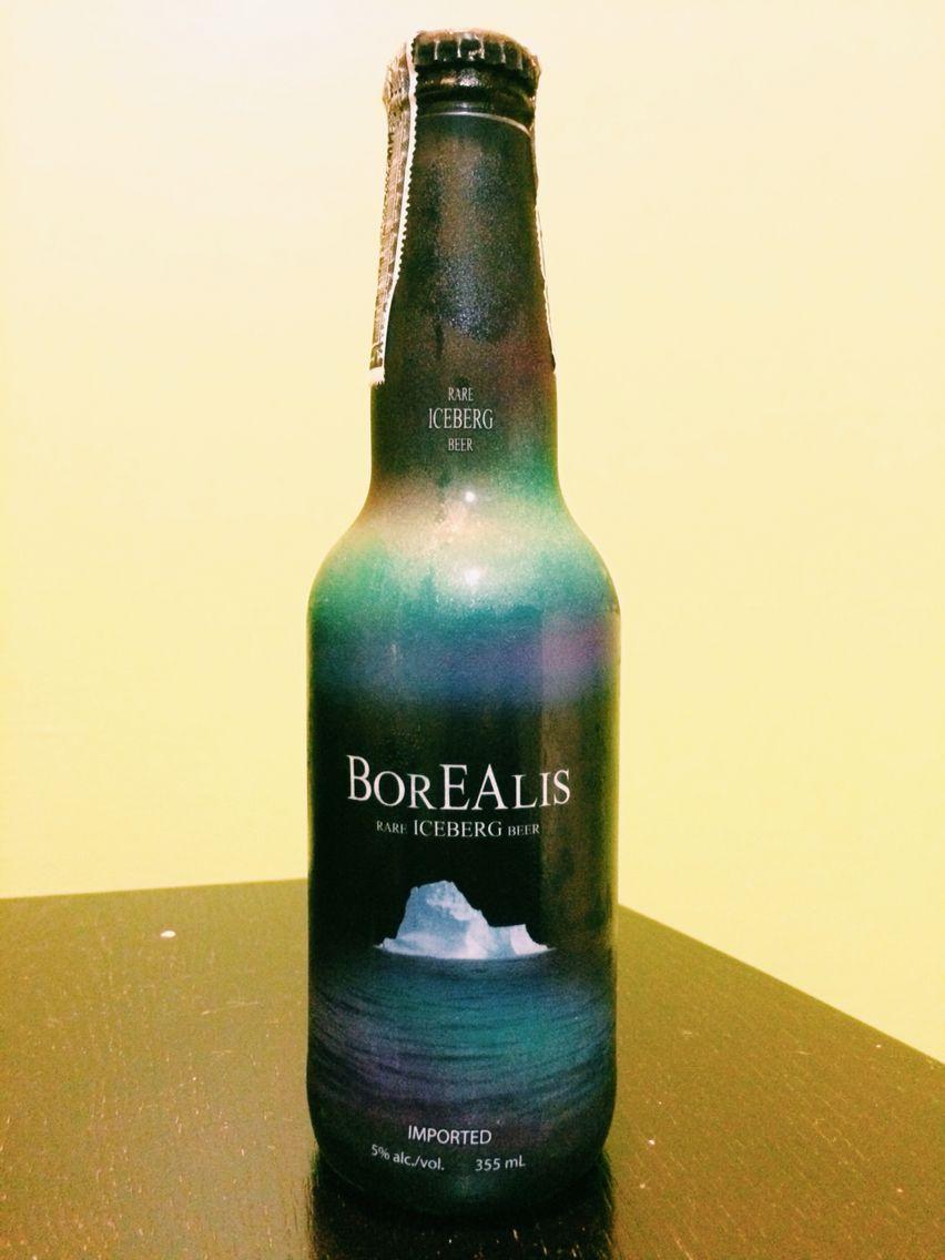 Frances Beir with regard to borealis : rare iceberg beer   beer collection   pinterest