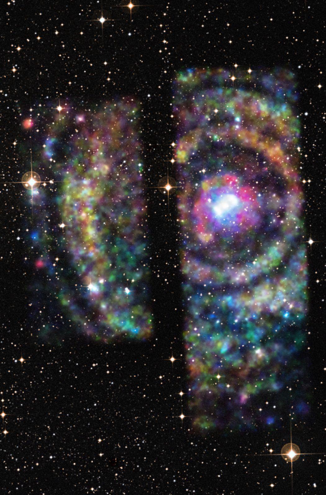 Universo Mágico: Ecos de rayos X desde Circinus