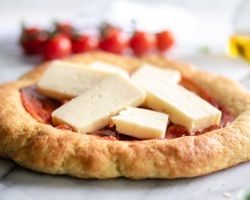 Easy yeast pizza dough gluten free low carb recipe