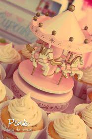 Pink Ateliê de Festas: Festa Circo de Menina/Vintage Circus