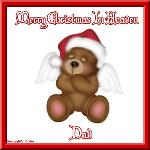 merry christmas in heaven dad - Merry Christmas In Heaven Dad