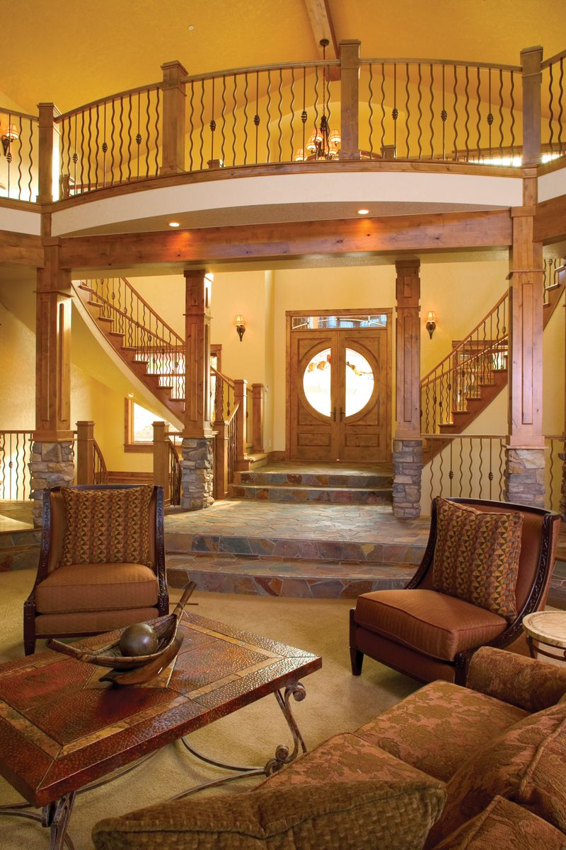 Boothbay bluff luxury home stairs photo from for Www houseplansandmore com