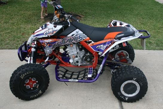 450 Racing Four Wheelers Car Tuning Four Wheelers Atv Atv Quads