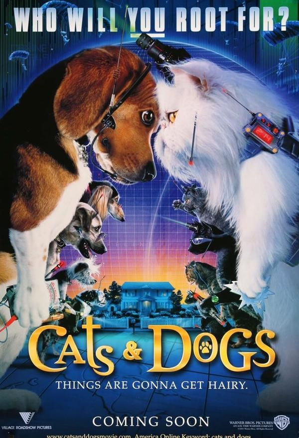 Cats and Dogs (2001) Original Movie Posters at Original