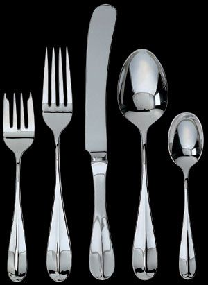 Ginkgo Classic English Stainless Flatware Flatware Stainless Flatware Stainless