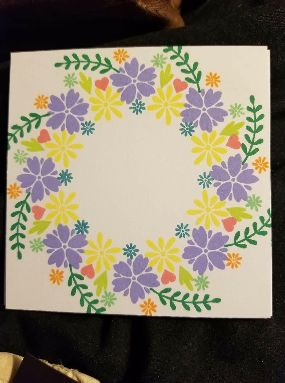 art cards wreaths imagekaren lambert  card craft