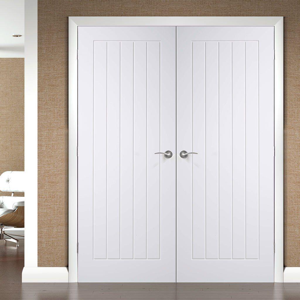 Simpli Double Door Set Suffolk Flush Door - Primed & Simpli Double Door Set Suffolk Flush Door - Primed | Internal ... pezcame.com