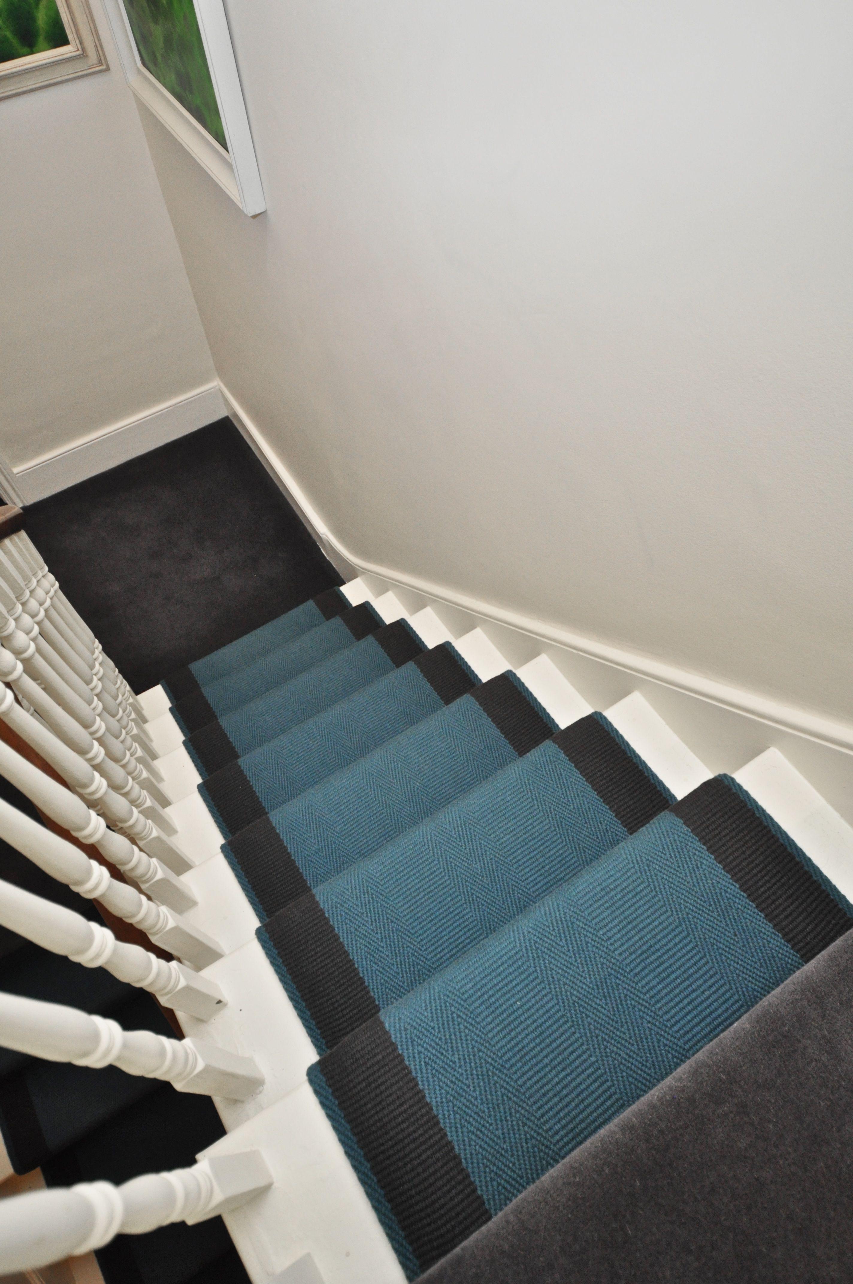 5 041 Flatweave Stair Runners Off The Loom Ashington 6 Flatweave Stair Runners With Folded Edges Co Ordinating Wool Carpets To Landings Fitted In London Www Offtheloom Co Uk Wool Carpet Carpet Fitting Loom