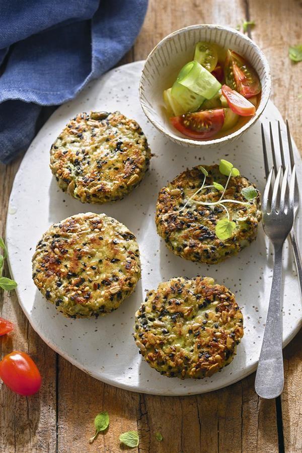 cena rapida hamburguesa vegetariana vegana Hamburguesa vegetal  Cenas en 2019  Food Ethnic recipes y Healthy Recipes