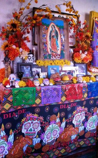 Dia De Los Muertos Altar At Fiesta Cocina Kitchen Store In Old Town San  Diego