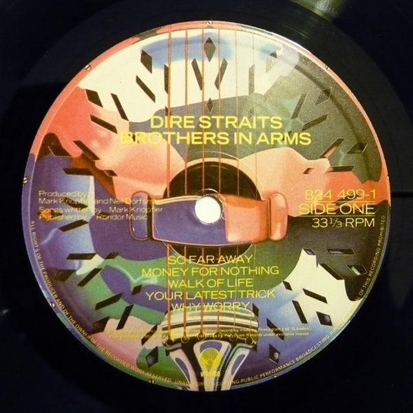 Dire Straits - Brothers In Arms (Vinyl, LP, Album) at Discogs