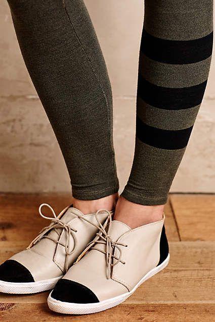 Game-Stripe Leggings - anthropologie.com
