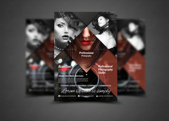Business And Finance Corporate Flyer  Flyer Template And