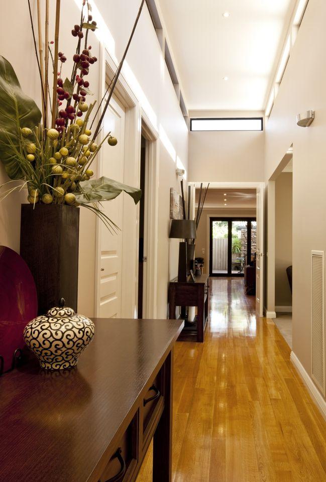 Decoración de pasillos estrechos Hall and Decoration
