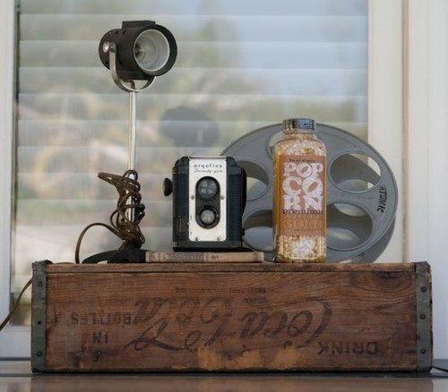 Decoración con cámaras antiguas