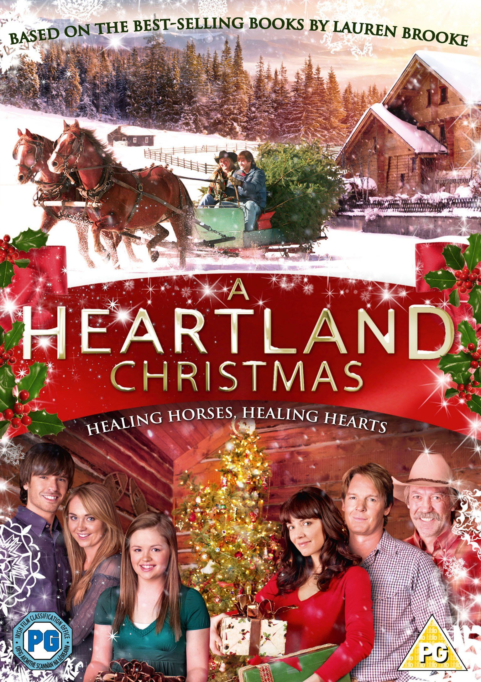 A Heartland Christmas Dvd Amazon Co Uk Amber Marshall Michelle Morgan Shaun Johnston Graham Wardle Chris Christmas Dvd Christmas Movies Heartland Cast