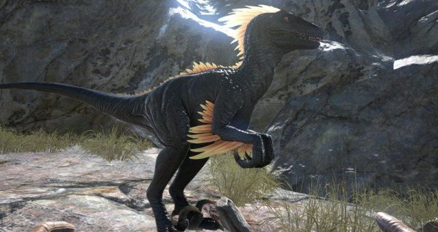 Ark Survival Evolved How To Tame A Raptor Ark Survival Evolved Ark Survival Evolved Bases Survival