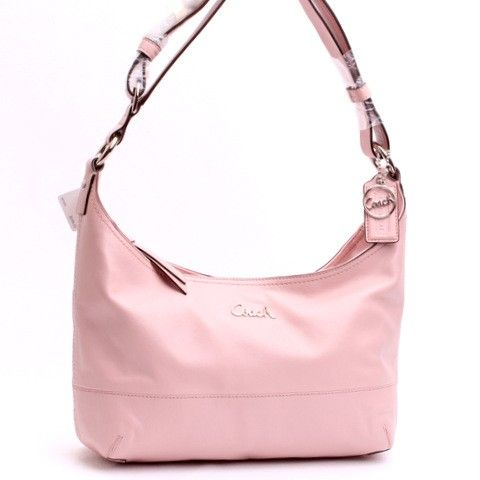 Love This Coach Pieced Leather Duffle Crossbody Bag  pink  e52ac0997a75c