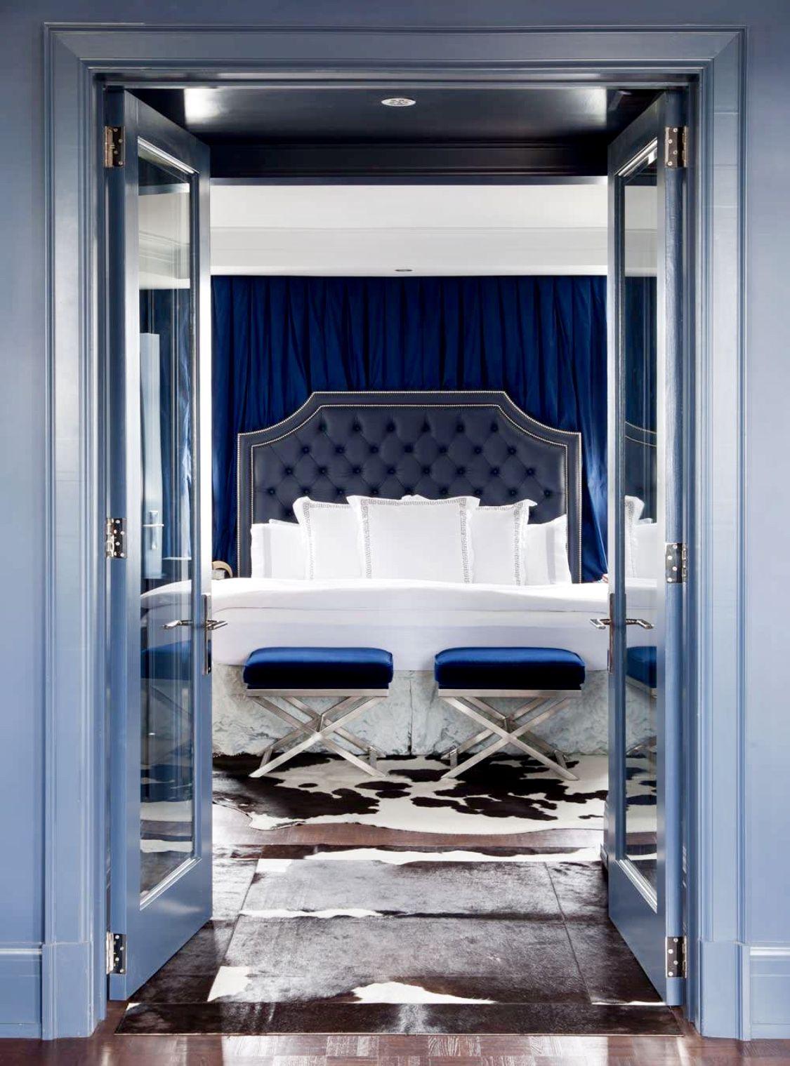 Best Luxury Glamour Cobalt Blue Bedroom Decor Cobalt Blue 640 x 480