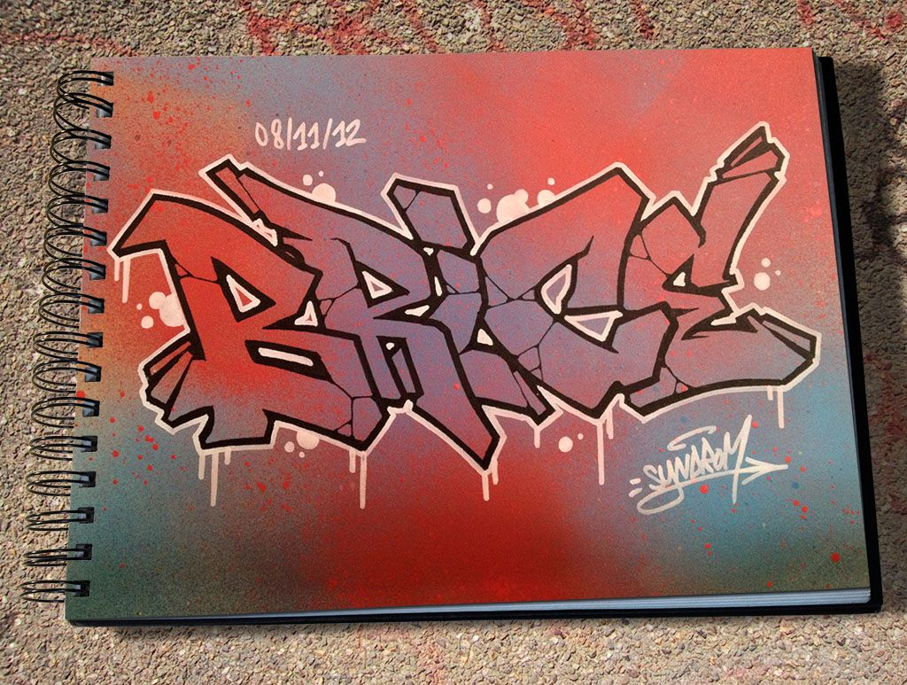Graffiti Blackbook Sketches Street Art Graffiti Writer Strawberry Art Drawings Words