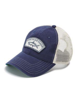 8fcc51de55fb Vineyard Vines Tarpon Patch Trucker Hat