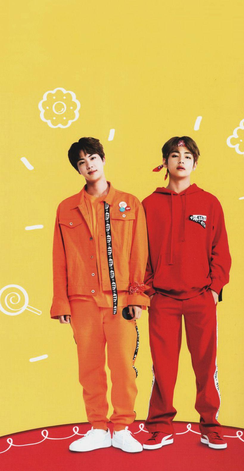 Bts Tumblr Bts 4th Muster Bts Jin Bts Bts jin and v wallpaper