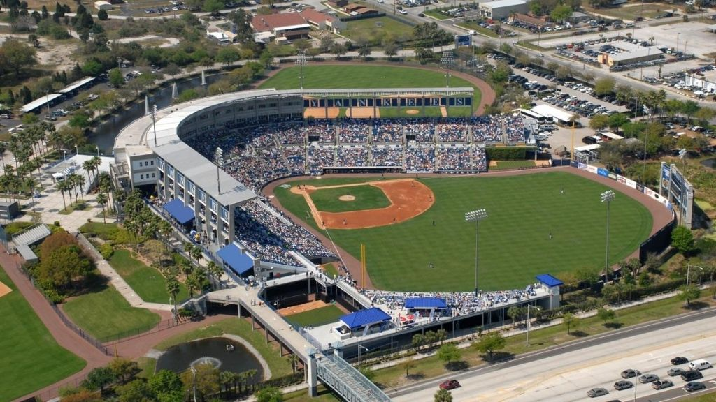 The Most Awesome As Well As Lovely George Steinbrenner Field Yankees Spring Training Field Baseball Park