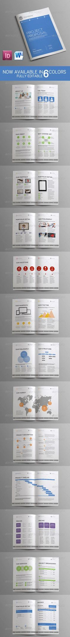 commercial proposal template #09 Ком пред Pinterest Proposal - commercial proposal template