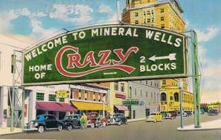 Mineral Wells Crazy Water Well Crazy Water From A Famous Mineral Water Company In Mineral Wells Texas Mineral Wells Mineral Wells Texas Texas