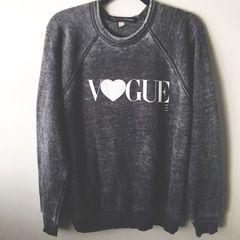 Vogue Heart Sweatshirt- Restocking soon