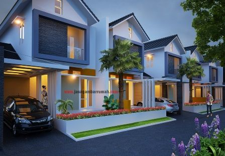 rumah 2 lantai minimalis modern di cikarang | home fashion