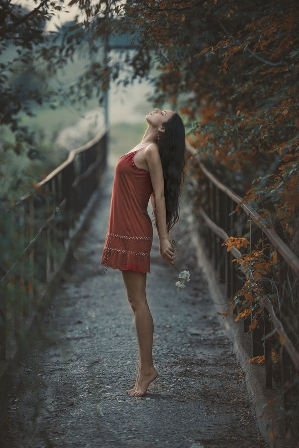 Photo Brusartsi Bridge By Kalin Kostov On 500px Photography Poses Women Model Photography Photography Poses
