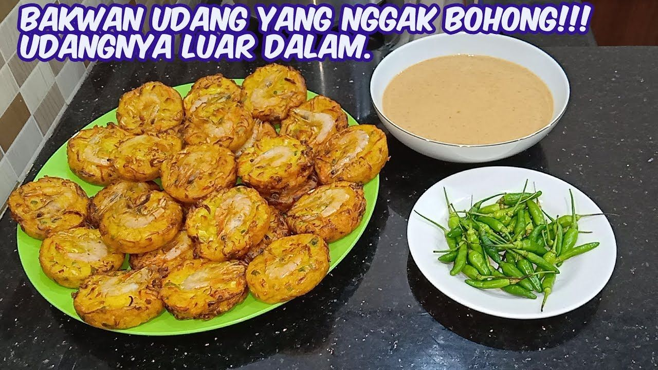 Bakwan Sayur Udang Youtube Food Food And Drink Cooking