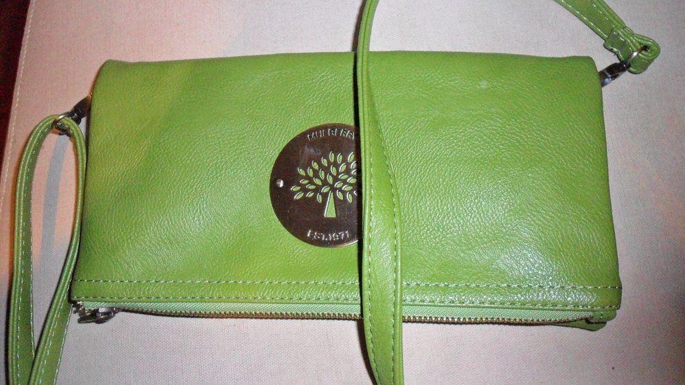 757b1c1553 Women's Mulberry Fold-Over Crossbody Clutch Handbag Purse Green Leather  #373140 #fashion #clothing #shoes #accessories #womensbagshandbags (ebay  link)