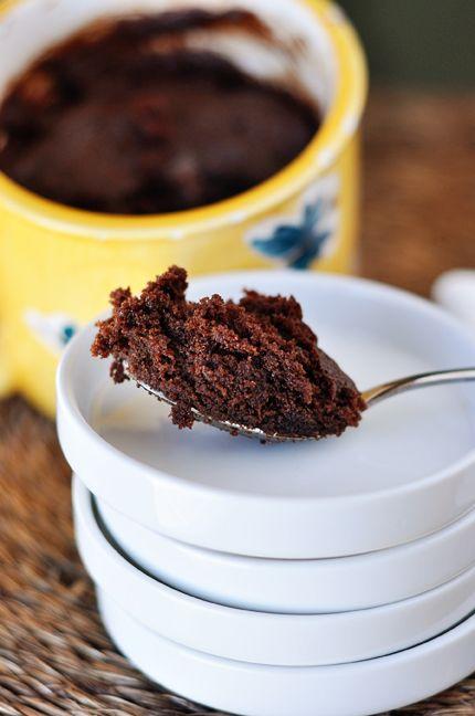 Chocolate Nutella (2-Minute) Mug Cake | Recipe (With ...