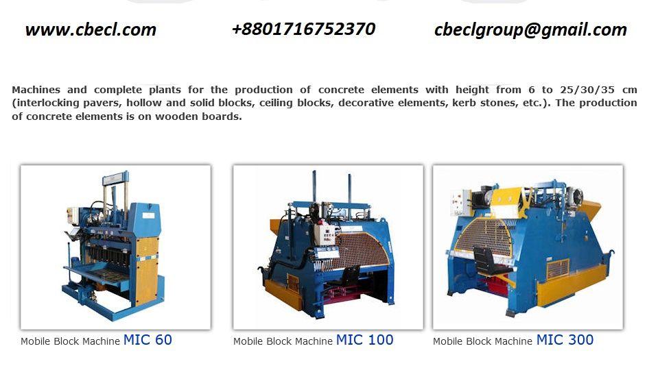 Concrete Block Making Machine In Bangladesh Concrete Blocks Concrete Making Machine