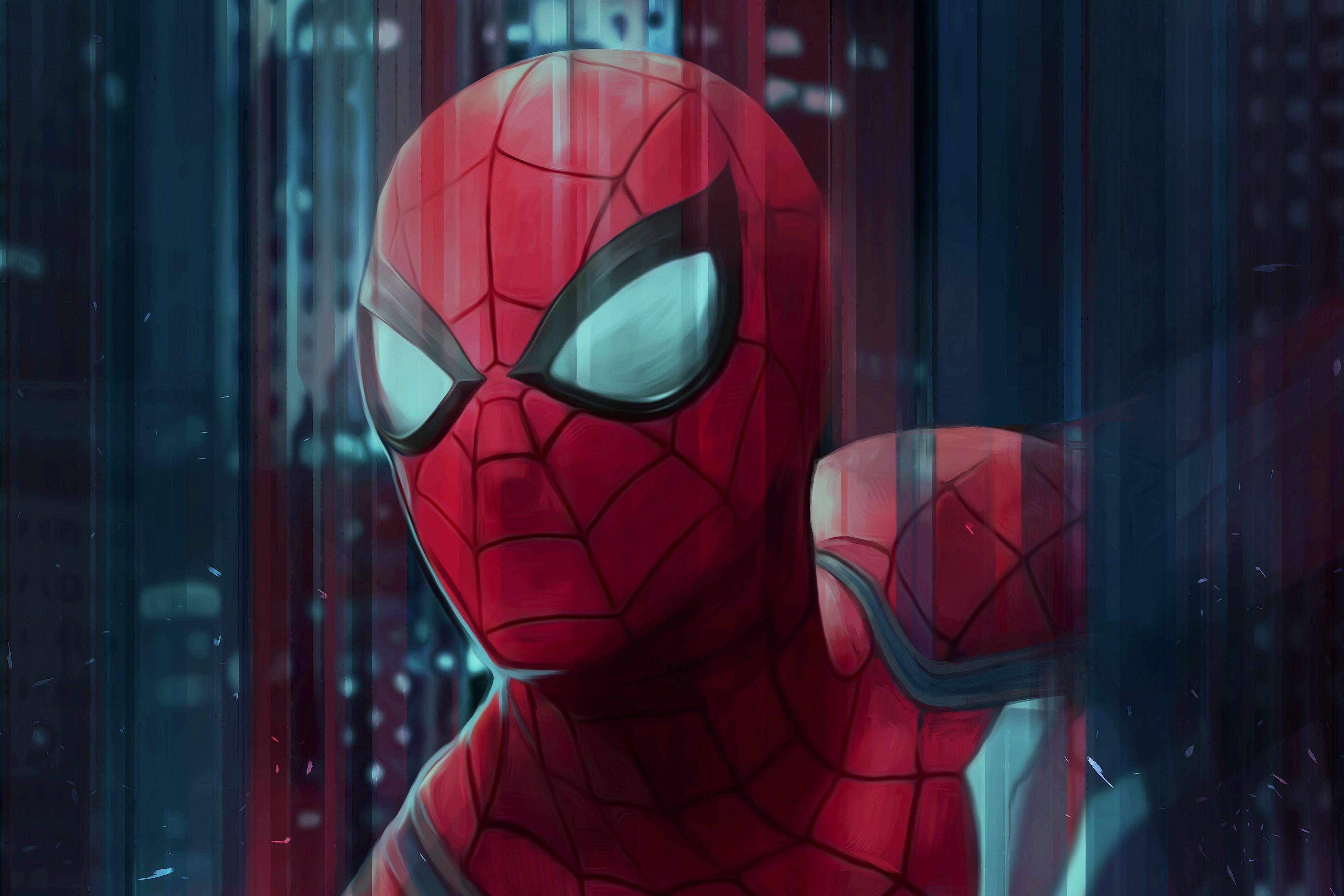 Wallpaper SpiderMan, PS4, HD, 4K, Games, 3125