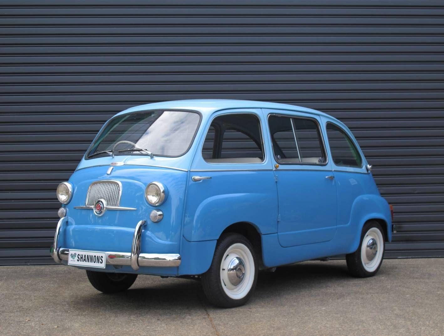 A Very Different People Mover From 1960 A Fiat 600 Multipla