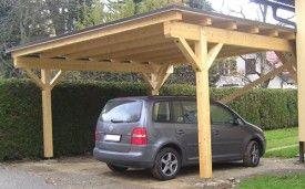 Building A Carport Diy In A Hour Com With Images Carport