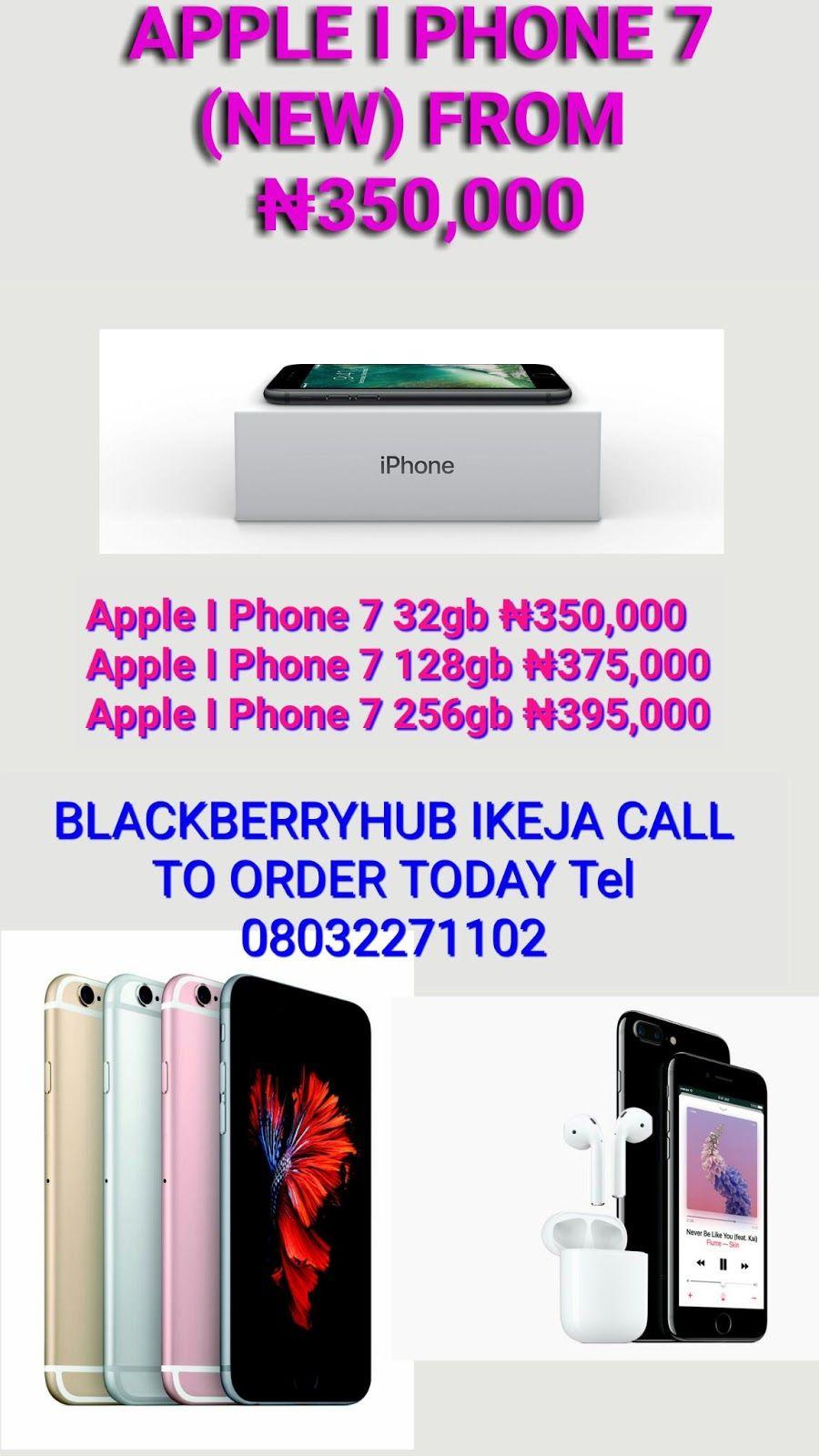 Used Phones In Nigeria Apple I Phone 7 Phone 7 Apple My