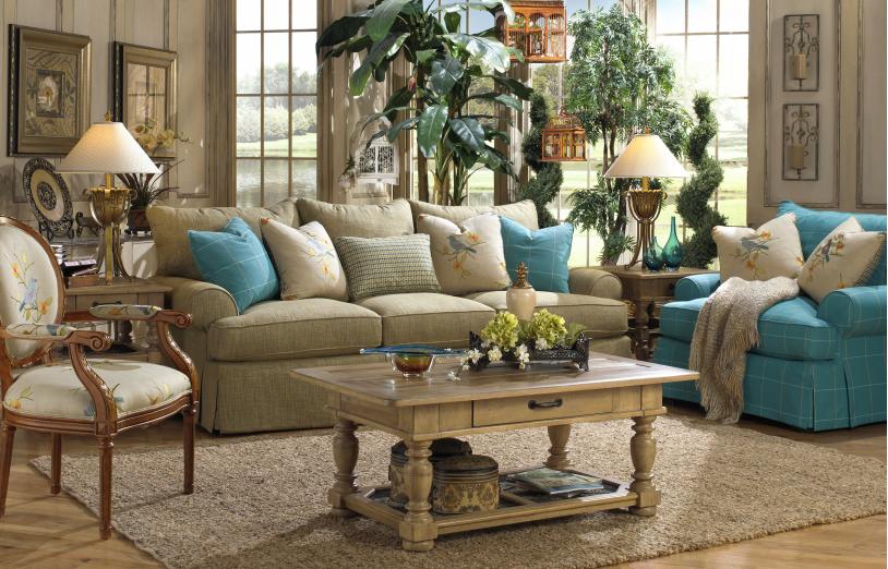 ... Craftmaster Furniture Blend Down. Paula Deen Living Room Set