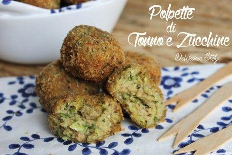 Polpette di tonno e zucchine ricetta salata cucina for Nuove ricette cucina