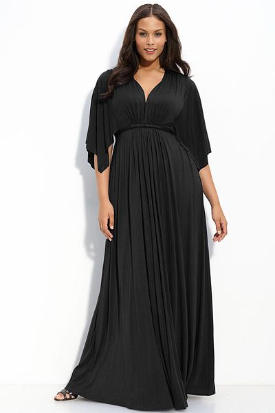 e532229ed8f Plus Size Fashion · Womens Fashion · circle body type - fall11 fashion 01  Maxi Robes