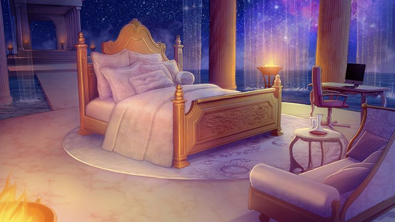 Olympus Master Bedroom at Night by tamiart on DeviantArt