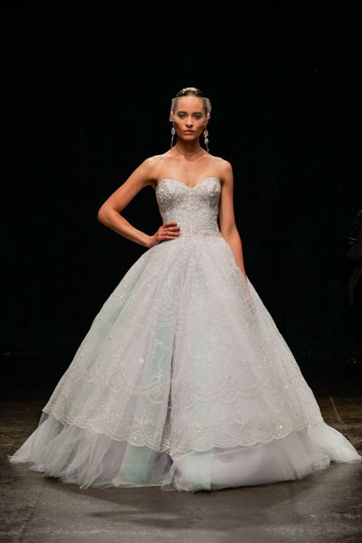 Fall In Love with Spring \'13 Lazaro Bridal Gowns | Lazaro bridal ...
