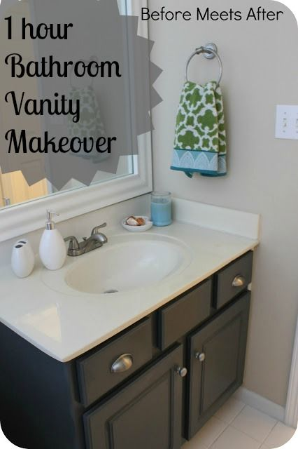 can you paint bathroom cabinets bathroom vanity makeover with sloan chalk paint 13216