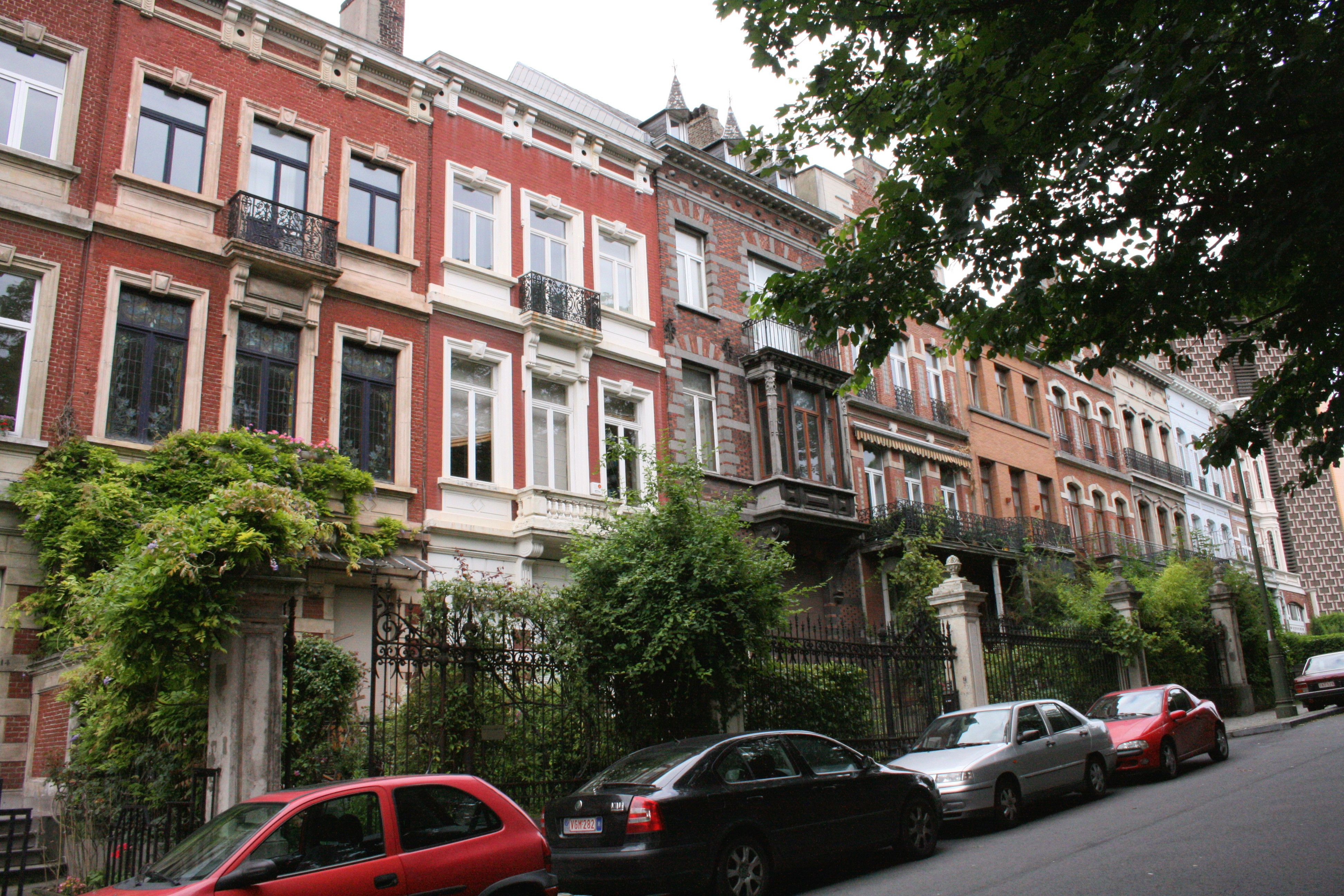 Ixelles rue Vautier, Brussels